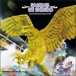 Capa CD Escolas de Samba do Grupo Especial de Porto Alegre (Foto: Reprodução)