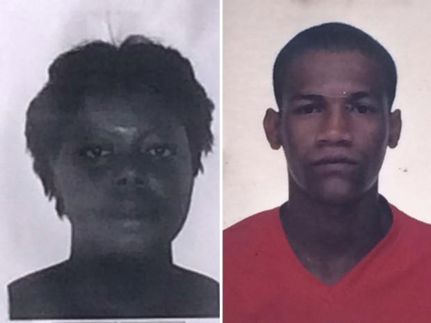 Polícia procura dupla que pode estar envolvida na morte de Elizangela Barbosa (Foto: Divulgação/Polícia Civil)