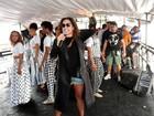 Daniela Mercury canta em Parada Gay em São Paulo