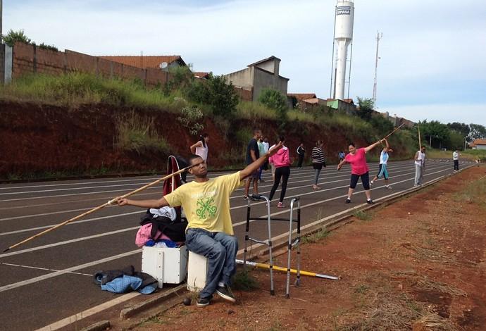 Treinamento Apae araxá (Foto: Amair Araújo/Arquivo Pessoal)