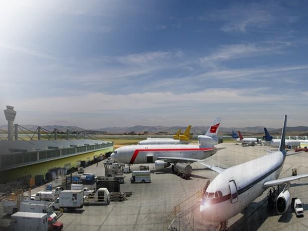 Anac autoriza construção de aeroporto de cargas em Pouso Alegre (Foto: Divulgação Bsquare)