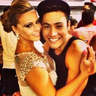 Viviane Araújo e Vinny Benincasa (Foto: Instagram/Reprodução)