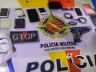 Polícia detém suspeitos de assaltar e torturar famílias no DF com farda falsa