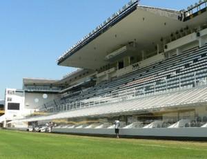 Estádio do Santos, Vila Belmiro será palco dos treinos da Costa Rica (Foto: Divulgação)