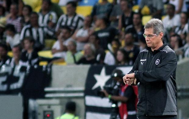 Oswaldo de Oliveira jogo Botafogo e Flamengo (Foto: Vitor Silva / SSPress)
