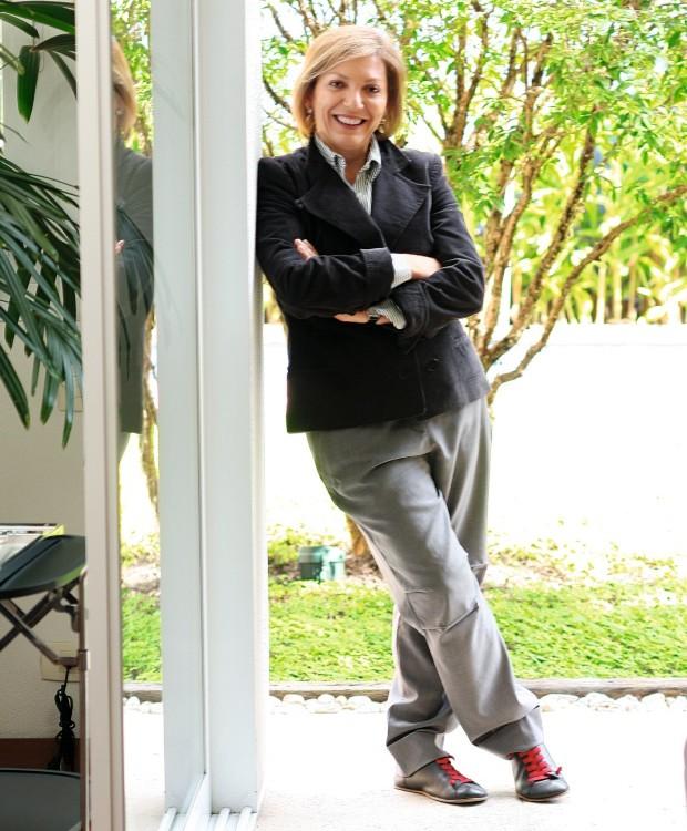 Baba Vacaro. Designer e roteirista do programa Casa Brasileira, do canal GNT (Foto: Rogério Voltan / Editora Globo)