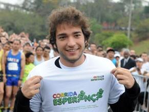O ator Humberto Carrão participou da corrida em 2011 (Foto: Divulgação)