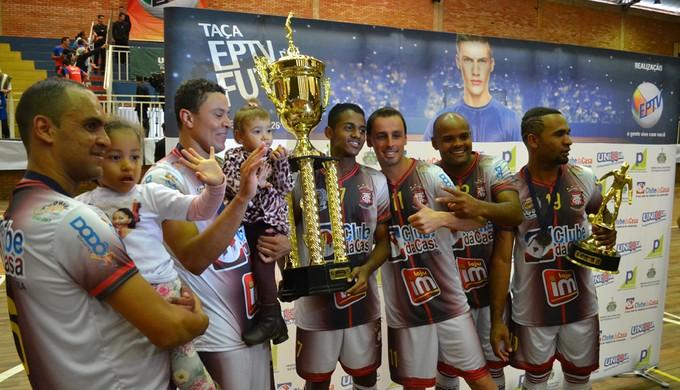 Andradas é tri-campeã da Taça EPTV de Futsal (Foto: Filipe Martins)