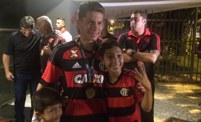 Patrick, Flamengo copinha (Foto: Monique Silva)