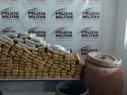 Suspeito de enterrar 100 quilos de maconha em chácara é preso em MG