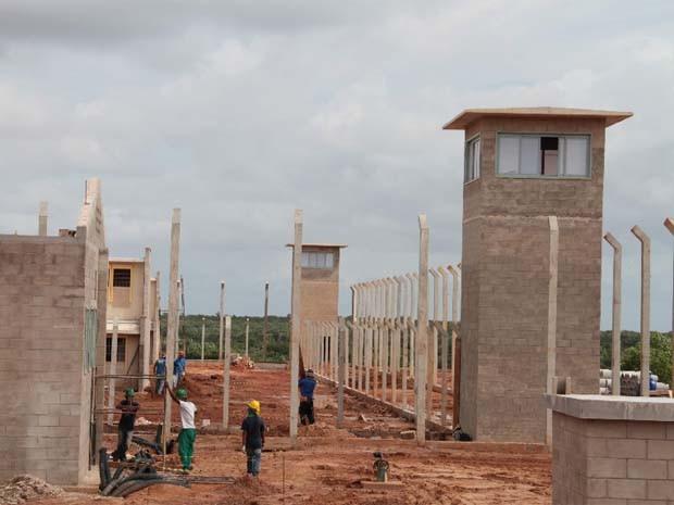 Presídio de São Luís está com 70% das obras concluídas (Foto: Biaman Prado/O Estado)