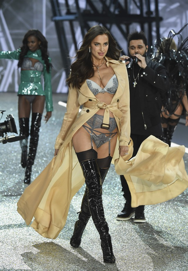 Irina Shayk na Victoria's Secret (Foto: Getty Images)