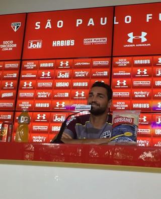Gilberto São Paulo (Foto: Alexandre Lozetti)
