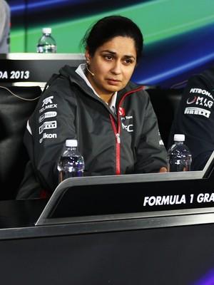 Monisha Kaltenborn recebeu 33% do time de Peter Sauber (Foto: Getty Images)