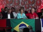 Dilma defende ajuste fiscal e pede o apoio do PT em congresso do partido