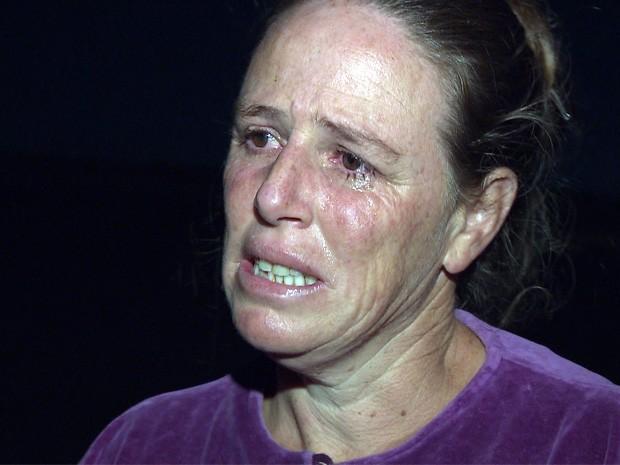 """Viúva de detento diz: """"perdi tudo""""  (Foto: Marcelo Rodrigues/ EPTV)"""