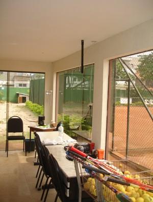 Antiga sede da Federação de tênis do Rio de Janeiro (Foto: Divulgação)
