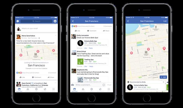 Facebook lança novos botões para facilitar pedidos (Foto: Divulgação/Facebook)