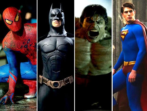 Anderson Silva top 5 super-heróis  (Foto: Editoria de Arte / Globoesporte.com)