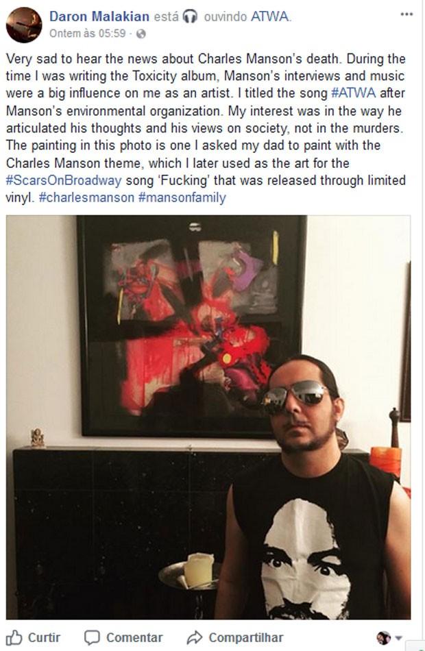 Daron Malakian (Foto: Reprodução)