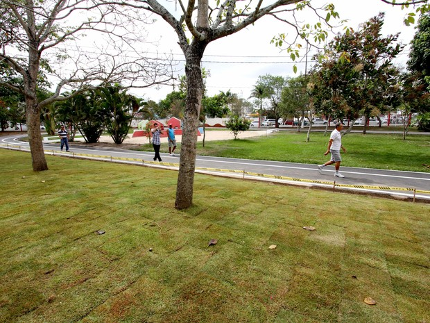 Parque da criança, em Campina Grande (Foto: Leonardo Silva/Jornal da Paraíba)