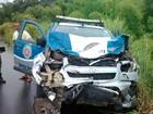 Motorista morre após carro bater de frente com viatura em Itapé, na Bahia