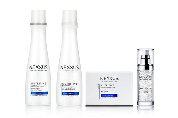 Shampoo Nutritive, R$ 55, Condicionador Nutritive, R$ 58, Máscara Nutritive, R$ 120, Encapsulate™ Sérum Nutritive, R$ 150 (Foto: Divulgação)
