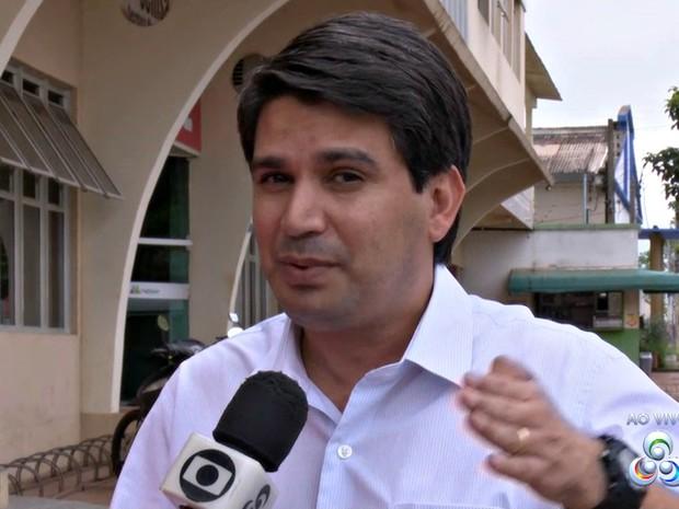 Emylson Farias (Foto: Reprodução/Rede Amazônica Acre)