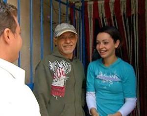 Luciano e a Família Ferreira (Foto: Caldeirão do Huck/TV Globo)