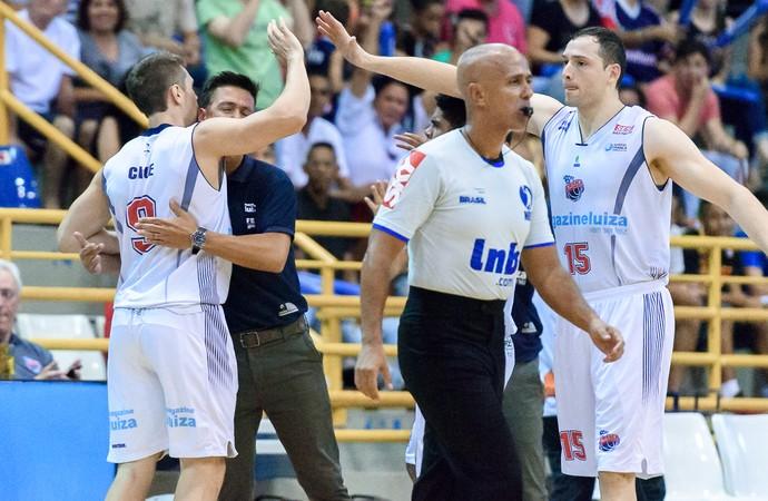 caue borges helinho franca basquete (Foto: Newton Nogueira/Franca Basquete)