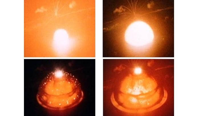 Explosão de bomba atômica capturada em HDR (Foto: Charles Wyckoff) (Foto: Explosão de bomba atômica capturada em HDR (Foto: Charles Wyckoff))