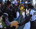 Vice em seletiva do halfpipe, Shaun White dá troféu para fã de 11 anos