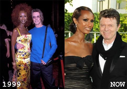 David Bowie & Iman, 1999 (Foto: .)