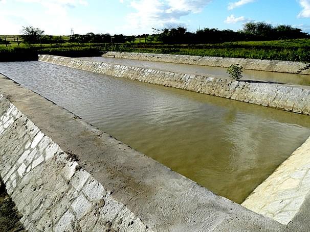 Unidade de tratamento de água de reuso Campina Grande (Foto: Divulgação)