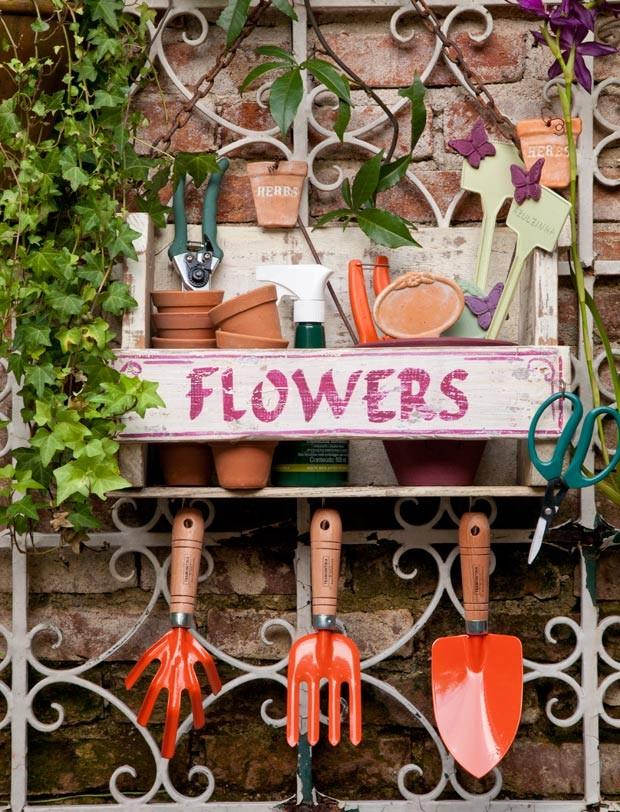 jardim-paisagismo-ferramentas (Foto: Lilian Knobel/Editora Globo)
