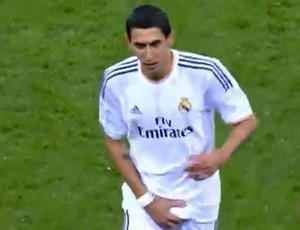 Ángel di María, Real Madrid x Celta (Foto: Reprodução / Internet)