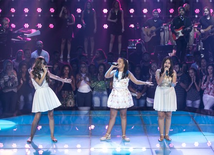 Marcela Morais, Maria Alice e Mayra Rodrigues fazem batalha com sucesso de Ivete e Luan Santana