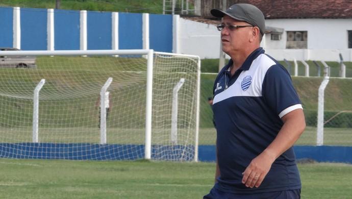 Ronaldo Bagé, técnico do CSA (Foto: Leonardo Freire / GloboEsporte.com)