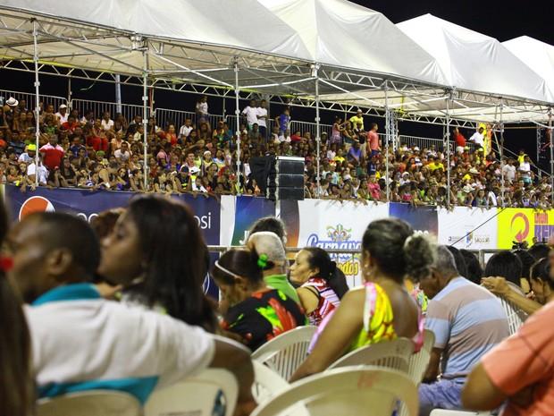 A apuração das notas do Desfile Oficial do Carnaval 2016 da Passarela do Samba, em São Luís, acontece nesta quarta-feira (10),  (Foto: Biné Morais / O Estado)