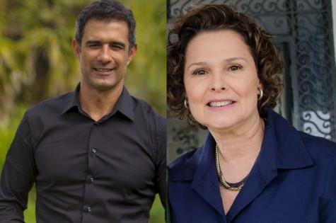 Marcos Pasquim e Louise Cardoso farão 'Babilônia' (Foto: Divulgação/TV Globo)