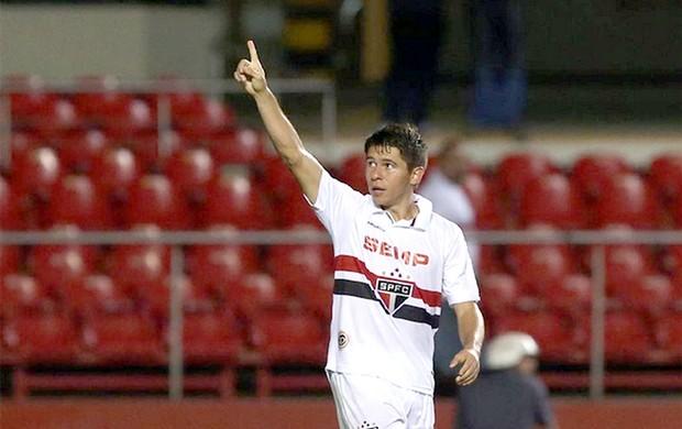 Osvaldo comemoração São Paulo contra Audax Osasco (Foto: Rubens Chiri / saopaulofc.net)