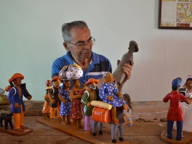 Mestre Manuel Eudócio tinha mais de 70 anos de carreira (Foto: Divulgação/Ascom Prefeitura de Caruaru)