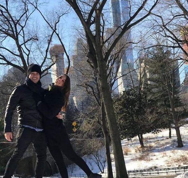 Marcos Veras e a namorada (Foto: Reprodução)