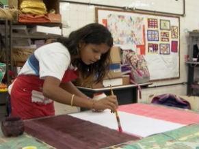 Ensino de Arte (Foto: Reprodução de tv)