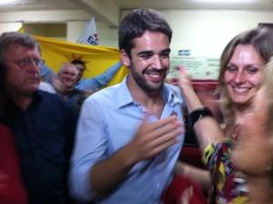 Eduardo Leite (PSDB) foi eleito prefeito de Pelotas (Foto: Felipe Truda/G1)