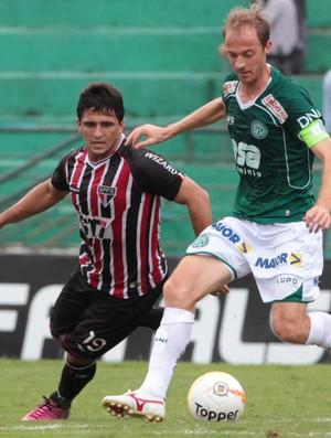 Aloisio, Guarani x São Paulo (Foto: Célio Messias/Agência Estado)