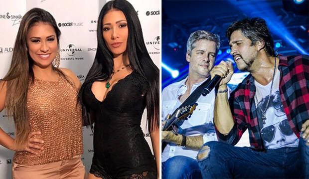 Simone & Simaria vão substituir Victor & Leo no The Voice Kids (Foto: QUEM/Reprodução/Instagram)