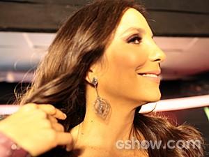 Ivete Sangalo look Top 6 (Foto: Camila Serejo/TV Globo)