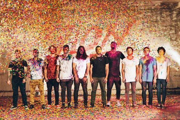 A banda australiana Hillsong United, uma das mais importantes do segmento gospel em todo mundo (Foto: Divulgação)