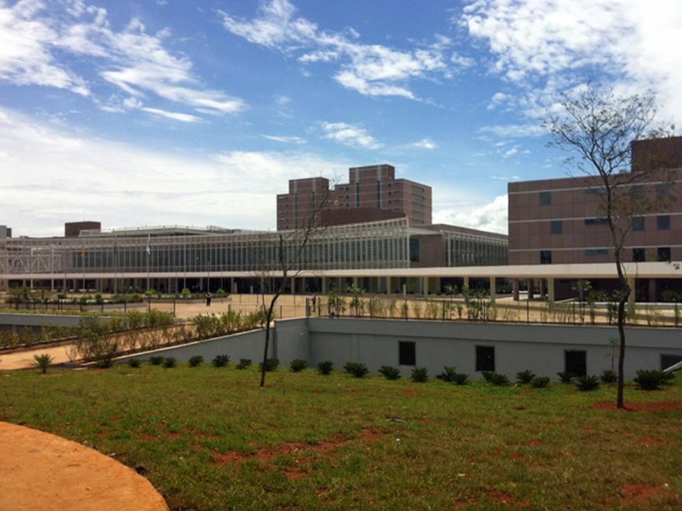 Novo Centro Administrativo do governo do Distrito Federal, em Taguatinga (Foto: Isabella Formiga/G1)